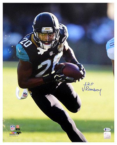 Jalen Ramsey Autographed Signed 16x20 Photo Jacksonville Jaguars - Beckett Authentic