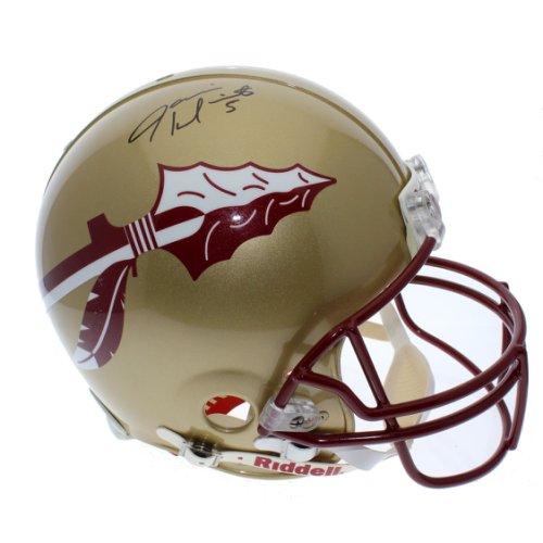 Jameis Winston Autographed Signed Florida State Seminoles Gold Full Size Authentic Proline Helmet - JSA