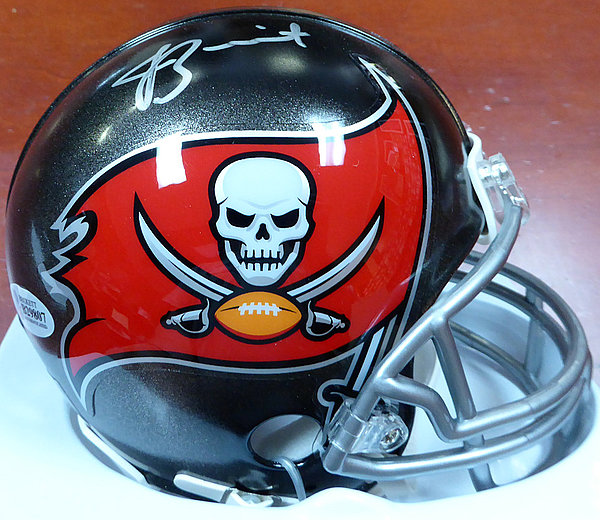 Jameis Winston Autographed Signed Tampa Bay Buccaneers Mini Helmet - Beckett Authentication
