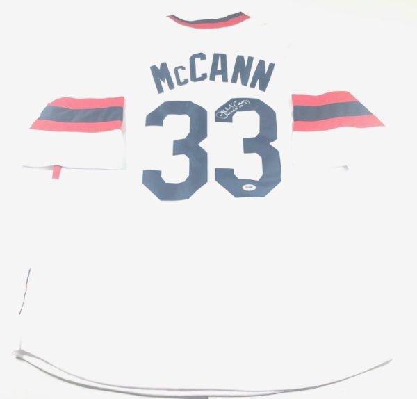 James Mccann Autographed Signed Jersey PSA/DNA Chicago White Sox Autographed