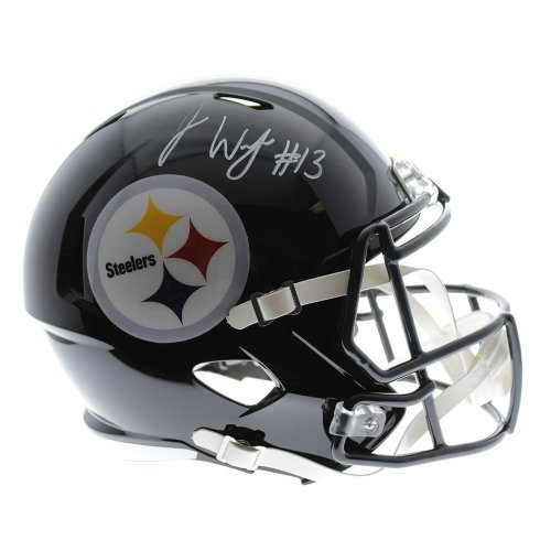 16a52c92 James Washington Autographed Signed Pittsburgh Steelers Riddell Speed Replica  Full size Helmet - JSA Certified Authentic