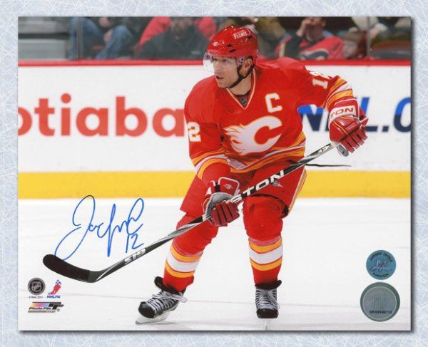 Jarome Iginla Calgary Flames Autographed Signed Retro Jersey 8x10 Photo -  Certified Authentic 19bc20f56