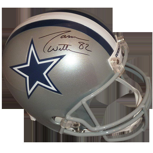 9b56c1c4c Jason Witten Autographed Signed Auto Dallas Cowboys Deluxe Full-Size  Replica Helmet � JSA - Certified Authentic