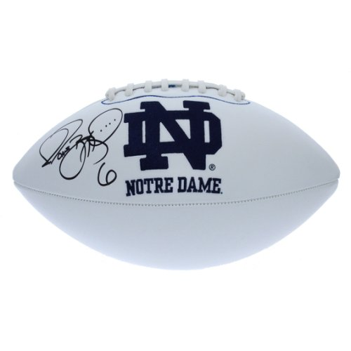 a441b707c8b Jerome Bettis Autographed Signed Notre Dame Fighting Irish White Panel  Football - PSA DNA Certified Authentic 139