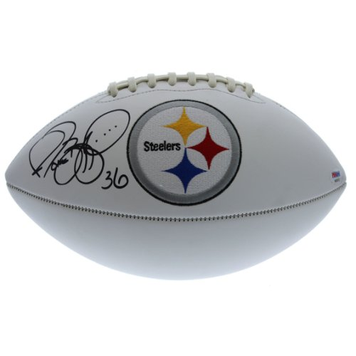 877c5bb98b0 Jerome Bettis Autographed Signed Pittsburgh Steelers White Panel Football -  PSA DNA Certified Authentic
