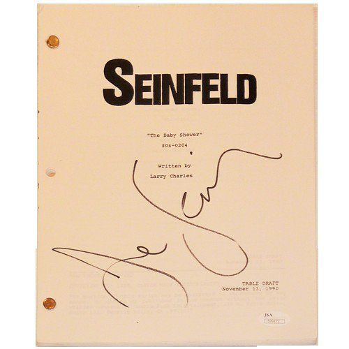 Jerry Seinfeld Autographed Signed Seinfeld TV Show Full Script - The Baby Shower Episode - JSA