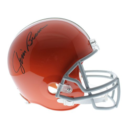 f1a099b4963 Jim Brown Autographed Signed Cleveland Browns Riddell Replica Full Size  Helmet - JSA Certified Authentic