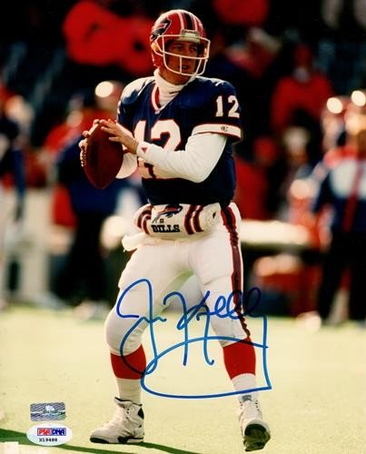 3b44a721387 Jim Kelly Autographed Signed Auto Buffalo Bills 8x10 Photograph   PSA - Certified  Authentic
