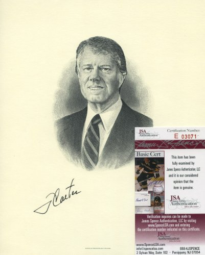 President Jimmy Carter Autographed Signed 8x10 Photo Reprint
