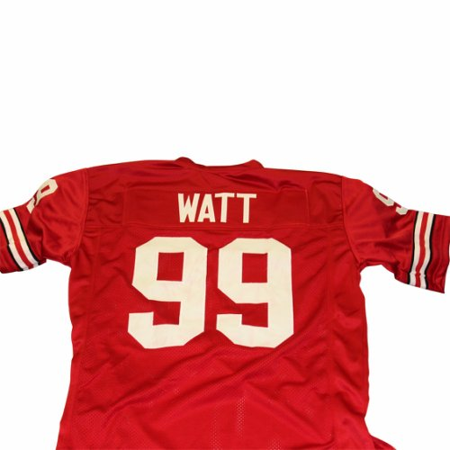 9da14f56608 JJ Watt Wisconsin Badgers Unsigned Custom Football Jersey - Size XL