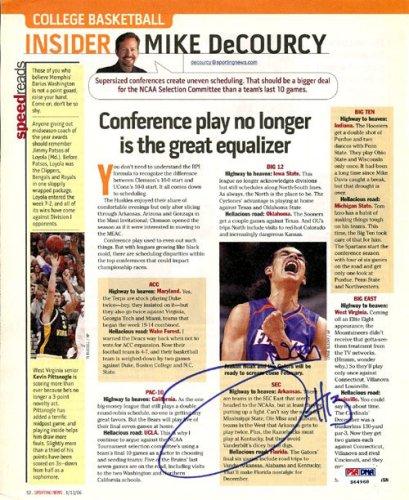 Joakim Noah Autographed Signed Magazine Page Photo Florida Gators - PSA/DNA Certified