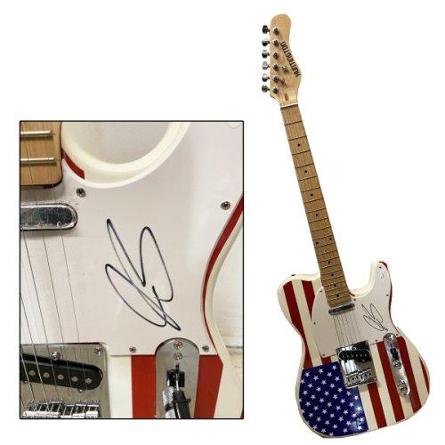 Joe Bonamassa Autographed Signed American Flag Huntington Guitar - JSA Authentic