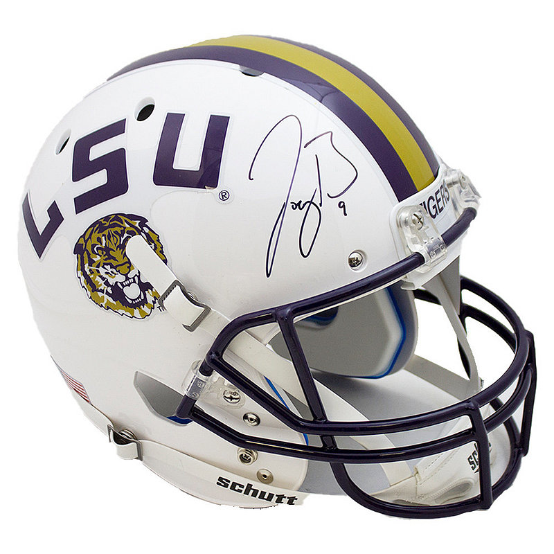 Joe Burrow Signed Autographed White LSU Tigers Schutt Replica Helmet - JSA Authentic/Fanatics Hologram