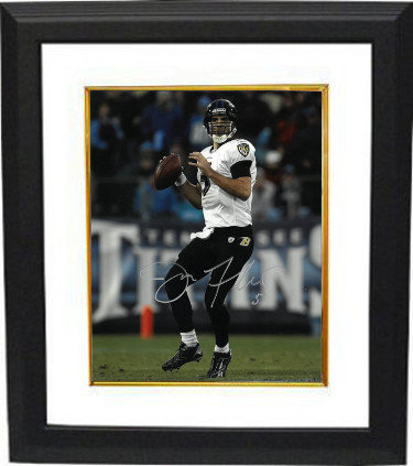 Joe Flacco Autographed Signed Memorabilia Baltimore Ravens 8x10 ...