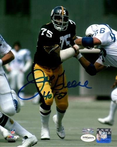 0147bf9e5 Joe Greene Autographed Signed Auto Pittsburgh Steelers 8x10 Photograph HOF  87 - Certified Authentic