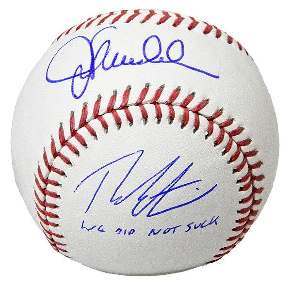 Sports Mem, Cards & Fan Shop 2019 New Style Joe Maddon Autographed Signed 2016 World Series Baseball Ball Cubs Jsa Coa