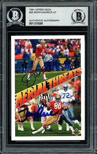check out 4bf91 acce4 Joe Montana   Autographed Football Memorabilia & NFL Merchandise