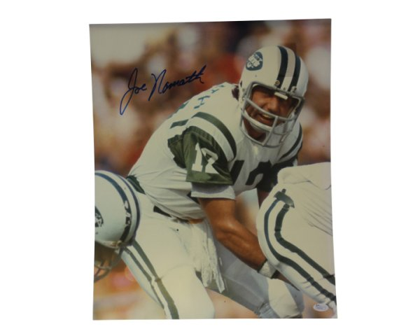 b938dd09376 Joe Namath Autographed Signed 16x20 Photo New York Jets - JSA Certified