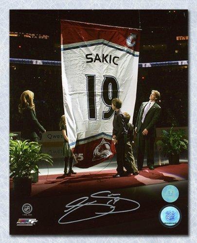 Joe Sakic Colorado Avalanche Autographed Signed Banner Retirement 8x10  Photo - Certified Authentic a4d1c6fb1