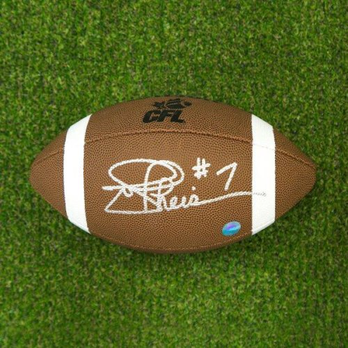 ddeef42fbd9 Joe Theismann Autographed Signed CFL Wilson Composite Football - Toronto  Argonauts - Certified Authentic