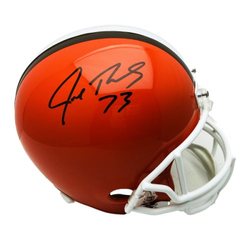 Joe Thomas Autographed Signed Cleveland Browns Riddell Replica Helmet  - JSA Authentic