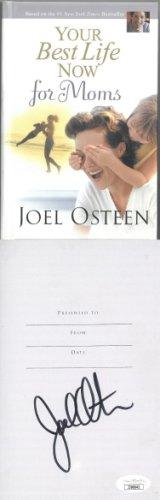 Joel Osteen Autographed Signed 2007 Your Best Life Now for Moms Hardcover Book- JSA #JJ96642