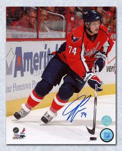 a7ddfb0e84e John Carlson Washington Capitals Autographed Signed Action 8x10 Photo -  Certified Authentic