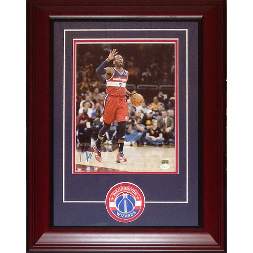 sports shoes 98ef7 345e5 John Wall Autographed Signed Auto Washington Wizards Deluxe Framed 11 14  Photograph Patch   JSA