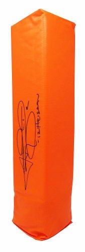 Johnny Manziel Autographed Signed Orange Endzone Football Pylon w/12 Heisman