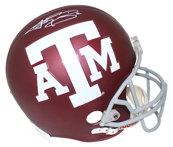 Autographed//Signed Johnny Manziel 2012 Full Size F//S Replica Heisman Trophy JSA COA