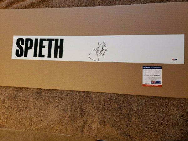 Jordan Spieth Autographed Signed 1 Of 1 Standard Sign Inscribed Roy'13 PSA/DNA Pga