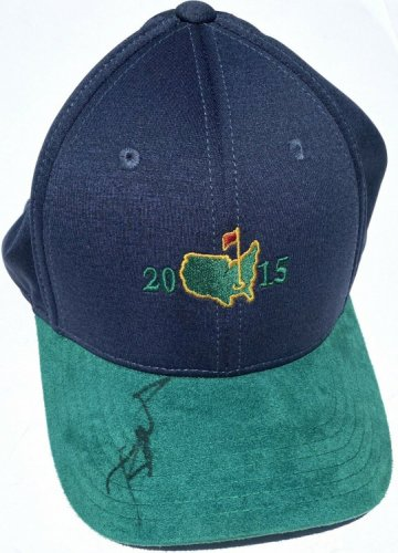 Jordan Spieth Autographed Signed 2015 Official Masters Golf Hat With JSA Authentic