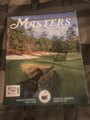 Jordan Spieth Autographed Signed Autograph 2015 Masters Official Program PSA