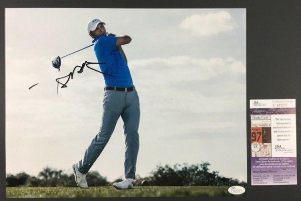 Jordan Spieth Autographed Signed Autographed 11X14 Photo Golf Masters Pga Us British JSA !