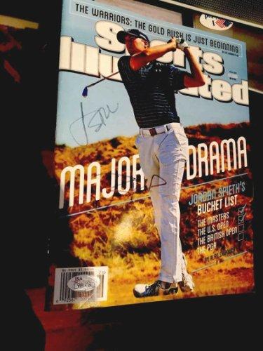 Jordan Spieth Autographed Signed Double Sports Illustrated JSA Letter COA Autograph
