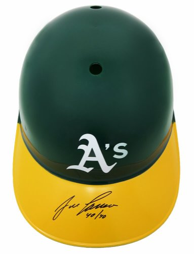 Jose Canseco Autographed Signed Oakland A's Replica Batting Helmet w/40-40