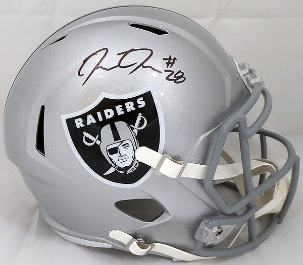 the latest 756df cebf2 Josh Jacobs Autographed Signed Memorabilia Oakland Raiders ...