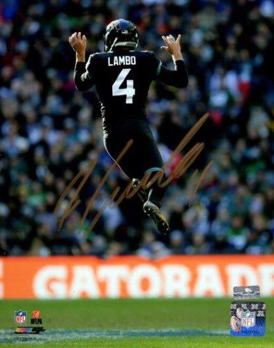 Josh Lambo Autographed Signed Jacksonville Jaguars (Jumping) 8X10 Photo