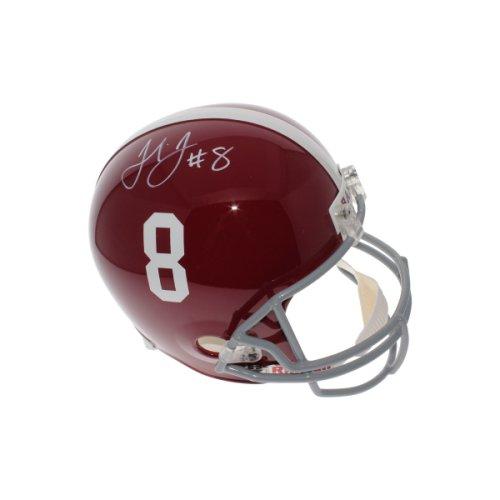 830c7a477 Julio Jones Autographed Signed Alabama Crimson Tide Full Size Replica  Helmet - JSA Authentic