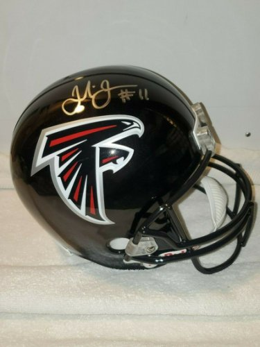 Julio Jones Autographed Signed Atlanta Falcons Full Size Helmet W/JSA COA