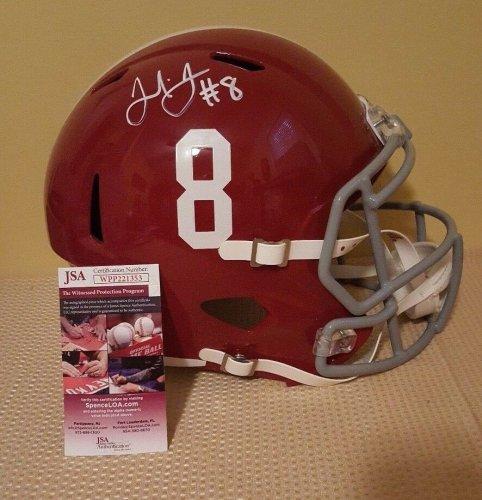 Julio Jones Autographed Signed Autograph Full Sz Alabama Riddell Replica Helmet Incl JSA