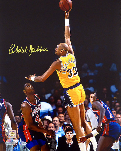 74cdda06b Kareem Abdul-Jabbar Autographed Signed 16x20 Photo Los Angeles Lakers -  Beckett Authentic