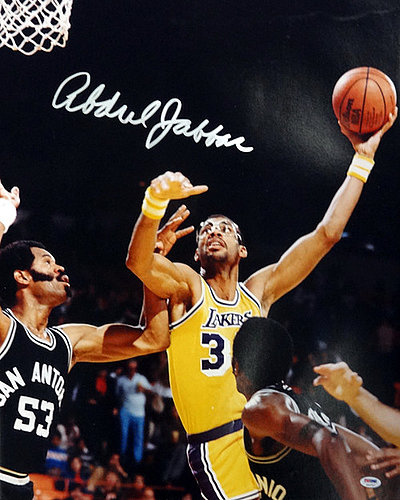 Kareem Abdul Jabbar Autographed Signed 20x24 Photo Los Angeles - PSA DNA  Certified 095c830ff