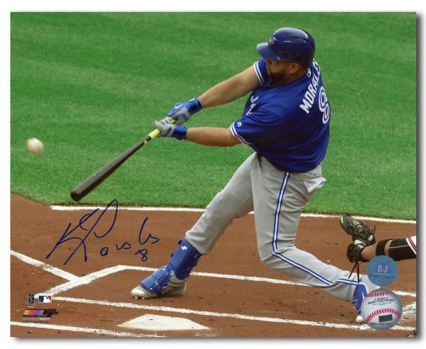 afbd4c0a6cd Kendrys Morales Toronto Blue Jays Autographed Signed Baseball Slugger 8x10  Photo - Certified Autograph - Certified