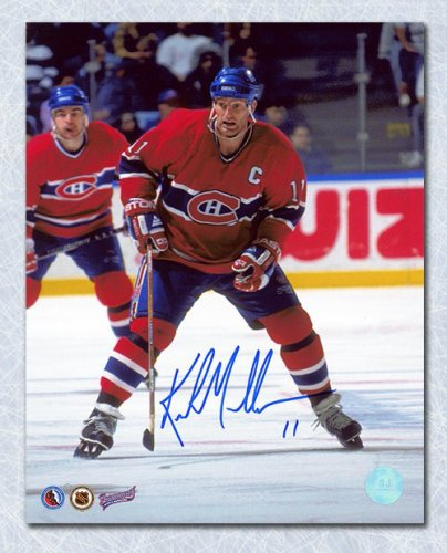 c464860c1 Kirk Muller Montreal Canadiens Autographed Signed Captain 8x10 Photo - Certified  Authentic