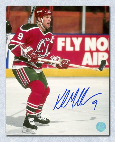 1a473624b Kirk Muller New Jersey Devils Autographed Signed Captain 8x10 Photo - Certified  Authentic