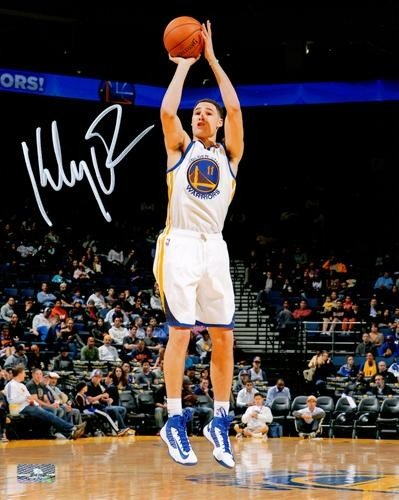 brand new 98523 c80d1 Klay Thompson Autographed Memorabilia | Signed Photo, Jersey ...
