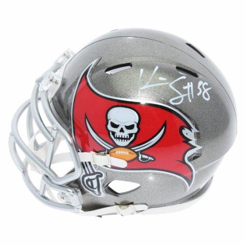 8eec14b1b823f Kwon Alexander Tampa Bay Buccaneers Autographed Signed Riddell Speed Mini  Helmet - JSA