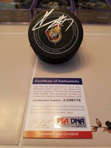 Kyle Turris Autographed Signed Senators Official Game Puck PSA/DNA COA