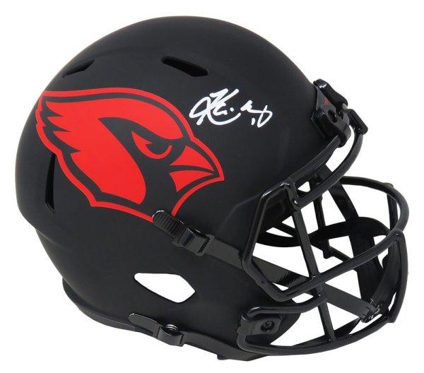 Kyler Murray Autographed Signed Arizona Cardinals Eclipse Black Matte Riddell Full Size Speed Replica Helmet
